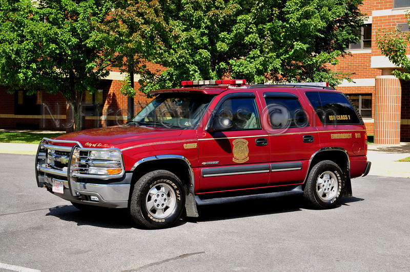 DUBOIS, PA CHIEF'S BUGGY - 2003 CHEVY TAHOE