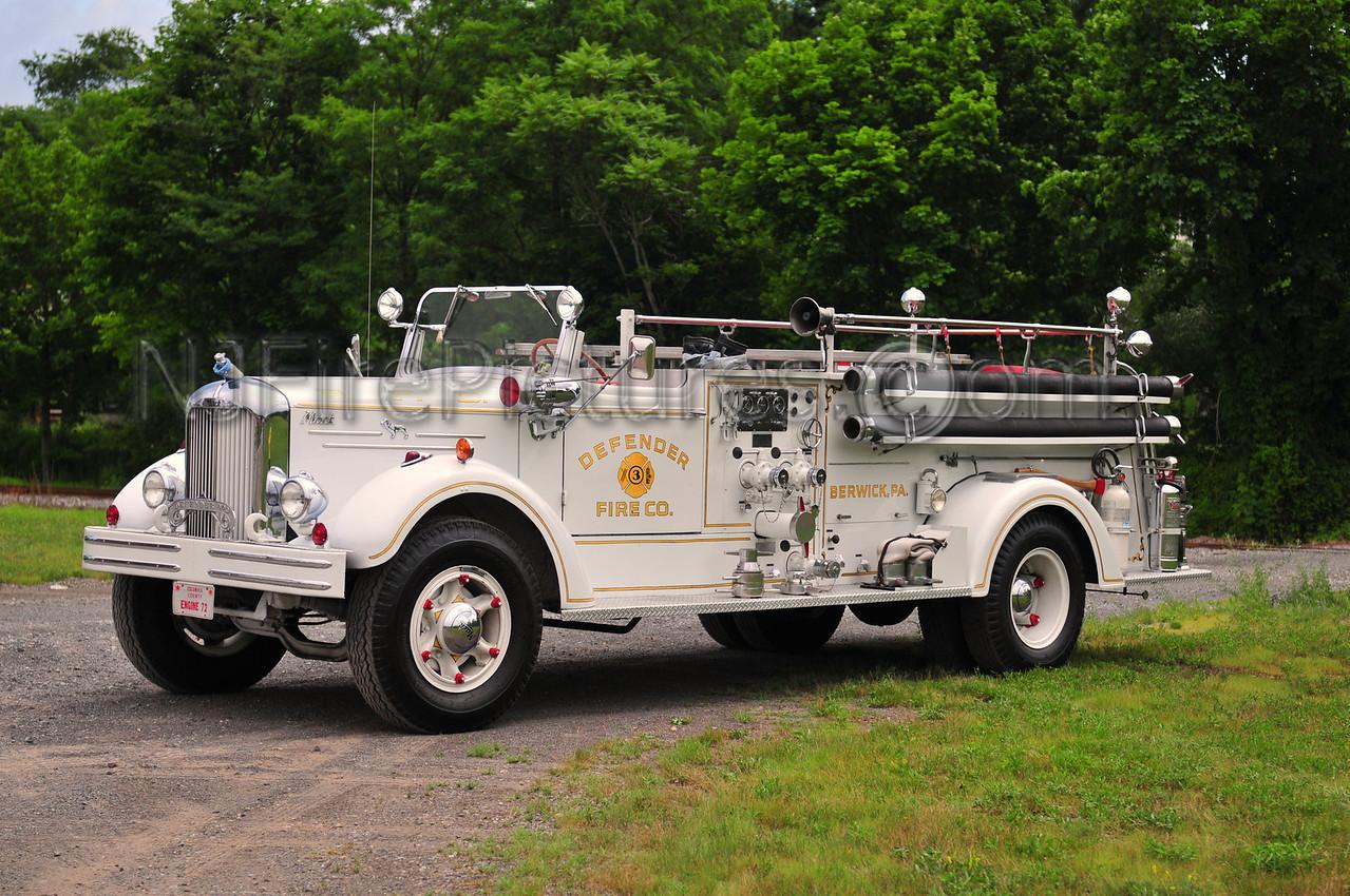 BERWICK, PA ENGINE 72 - 1951 MACK MODEL 505A 750/500