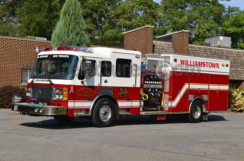 WILLIAMSTOWN, PA ENGINE 24