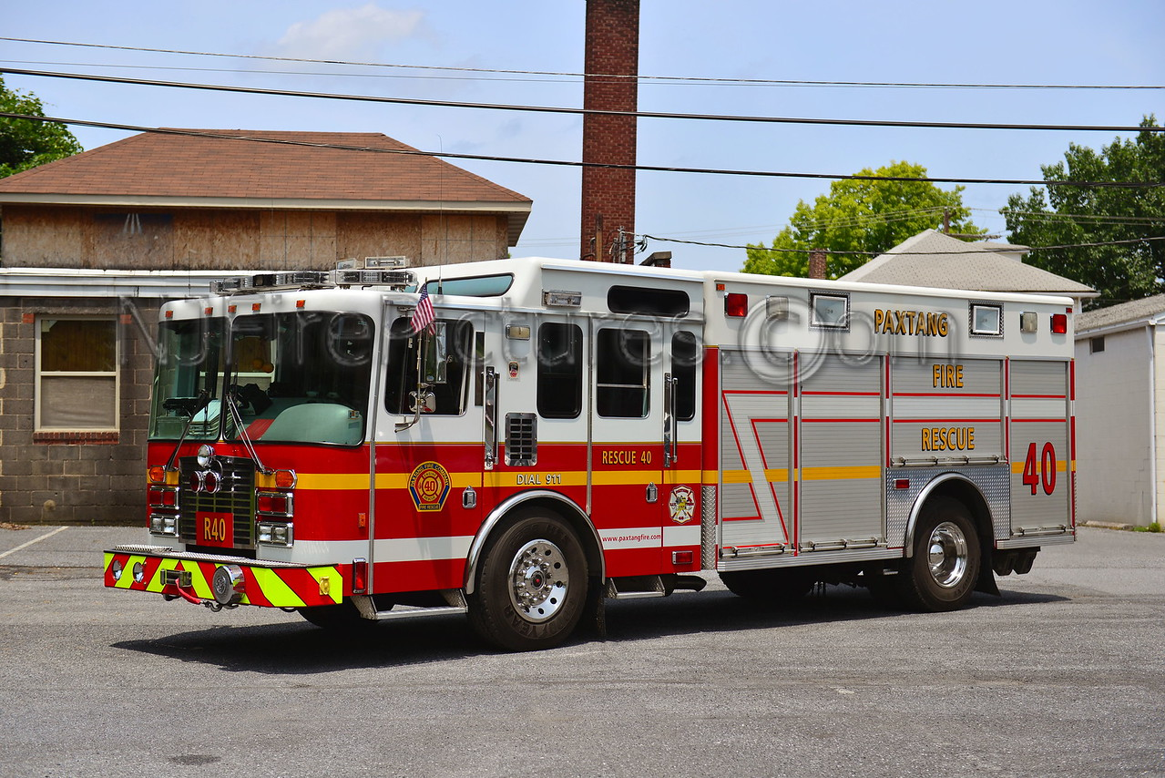 PAXTANG RESCUE 40 - 1994 HME/NORTHEAST EMERGENCY VEHICLES
