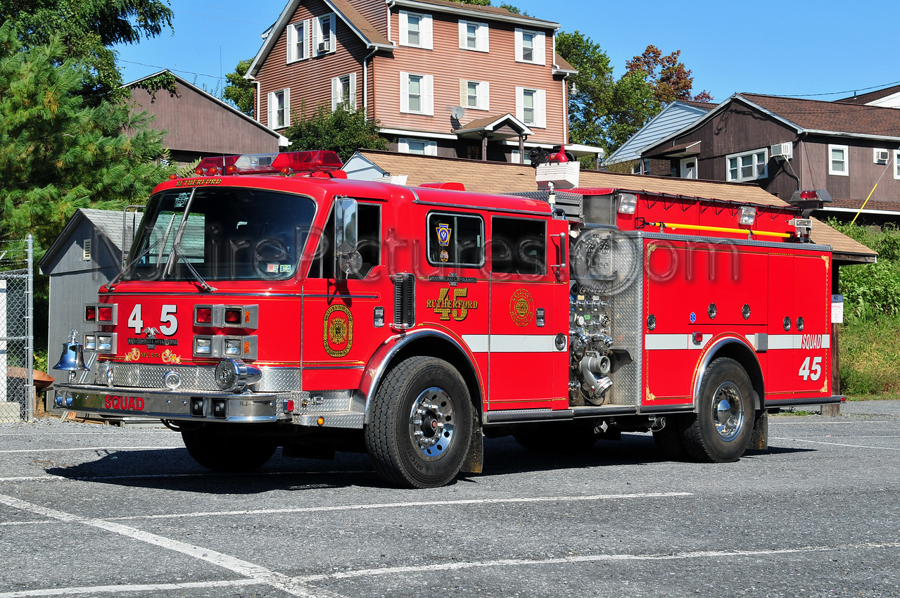 RUTHERFORD SQUAD 45 - 1992 AMERICAN LAFRANCE 1500/500/30