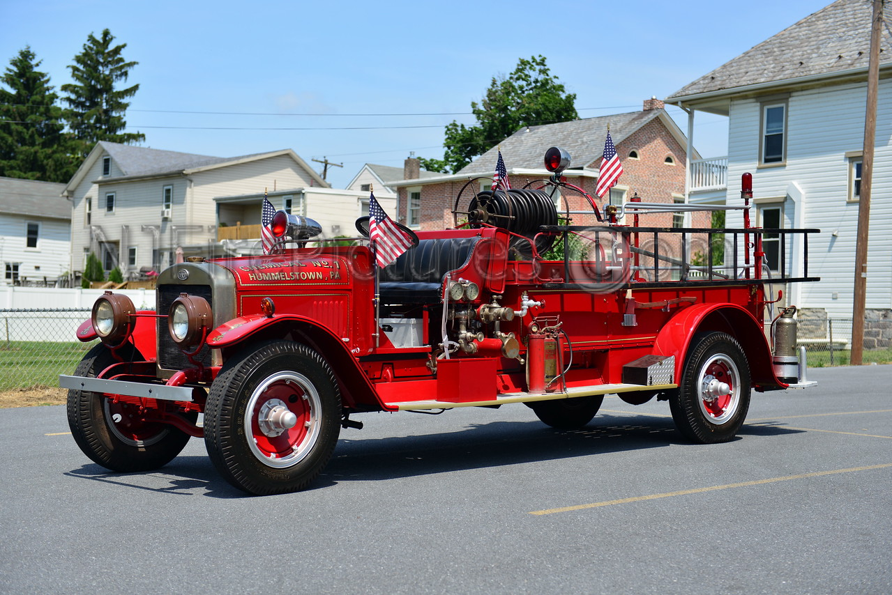 HUMMELSTOWN ANTIQUE - 1926 HAHN MODEL BFD6 400 GPM