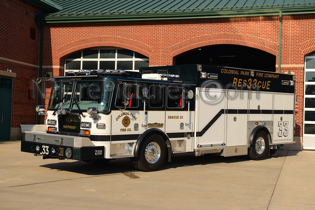 LOWER PAXTON, PA COLONIAL PARK FIRE CO. RESCUE 33