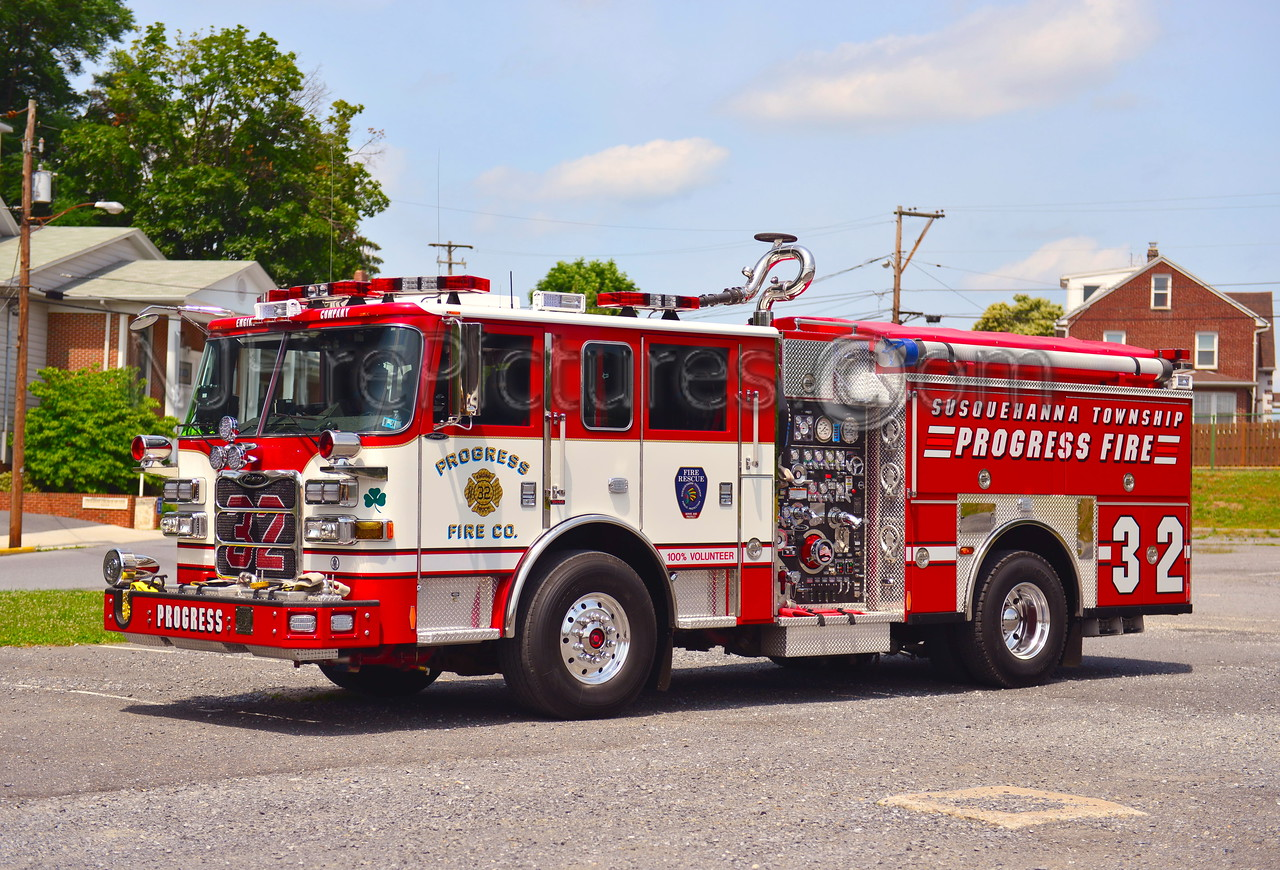 SUSQUEHANNA TWP (PROGRESS FIRE CO.) ENGINE 32 - 2012 PIERCE ARROW XT 1500/500