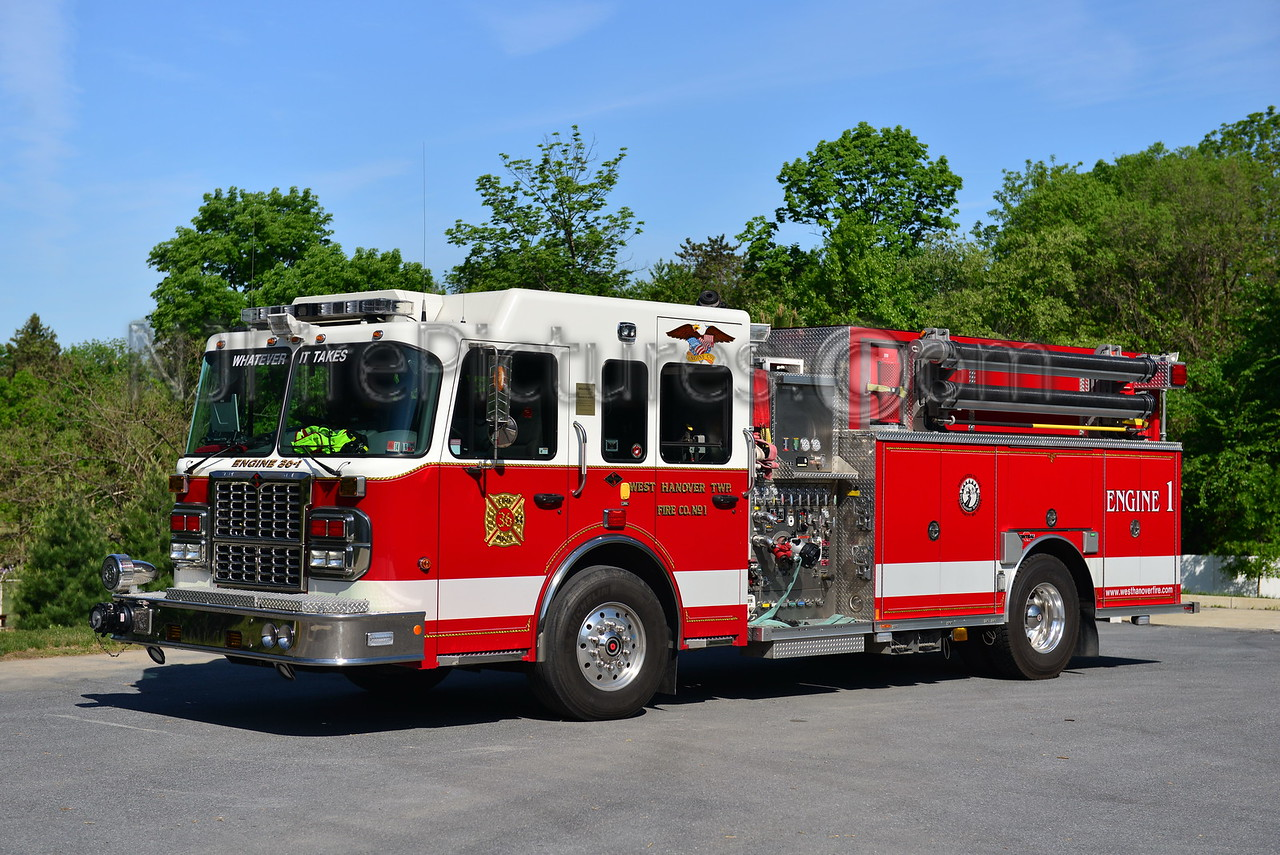 WEST HANOVER TWP, PA ENGINE 36-1