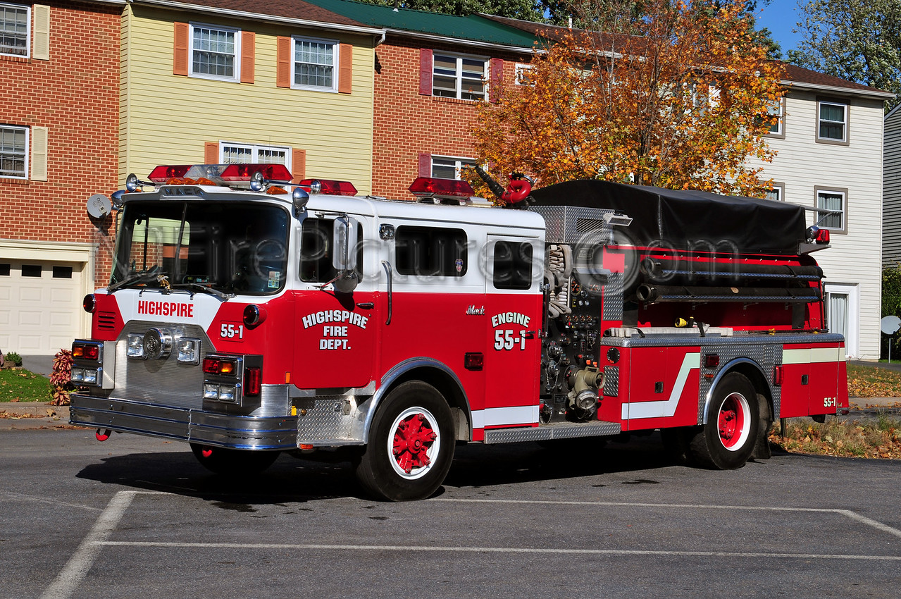 HIGHSPIRE ENGINE 55-1 - 1978 MACK CF/NEW LEXINGTON 1000/1000