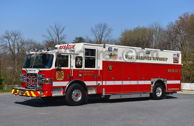 WEST HANOVER, PA RESCUE 36-1
