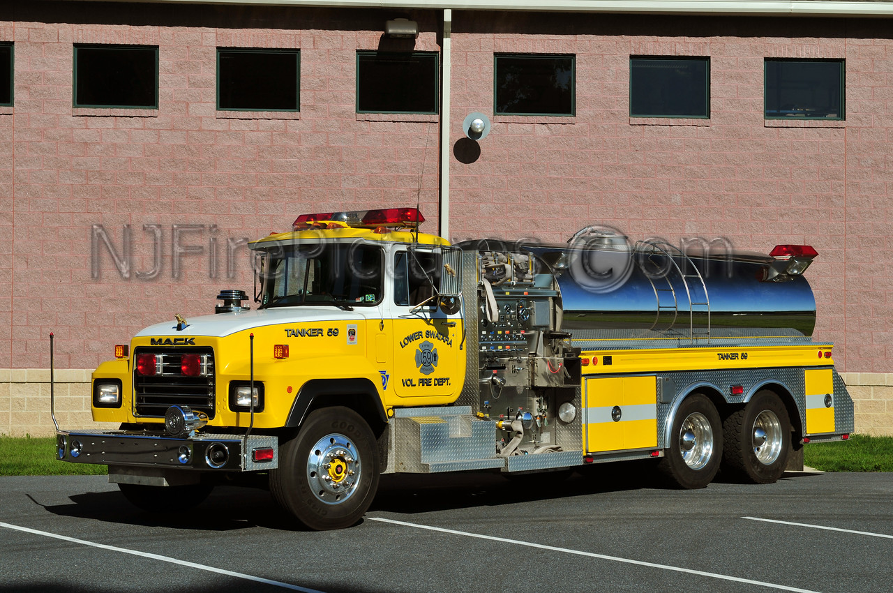 LOWER SWATARA TANKER 59 - 1992 MACK RD/4GUYS 500/2500