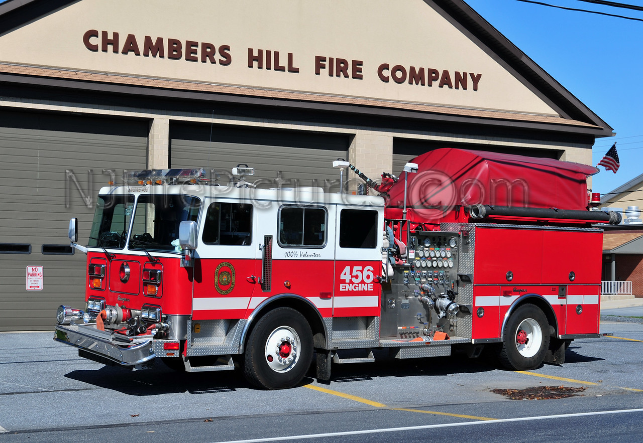 CHAMBERS HILL ENGINE 456 - 1991 SEAGRAVE 1500/750