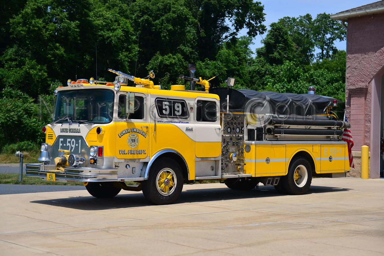 LOWER SWATARA ENGINE 59 - 1978 MACK CF 1250/750 REFURB BY ITE AND SWAB