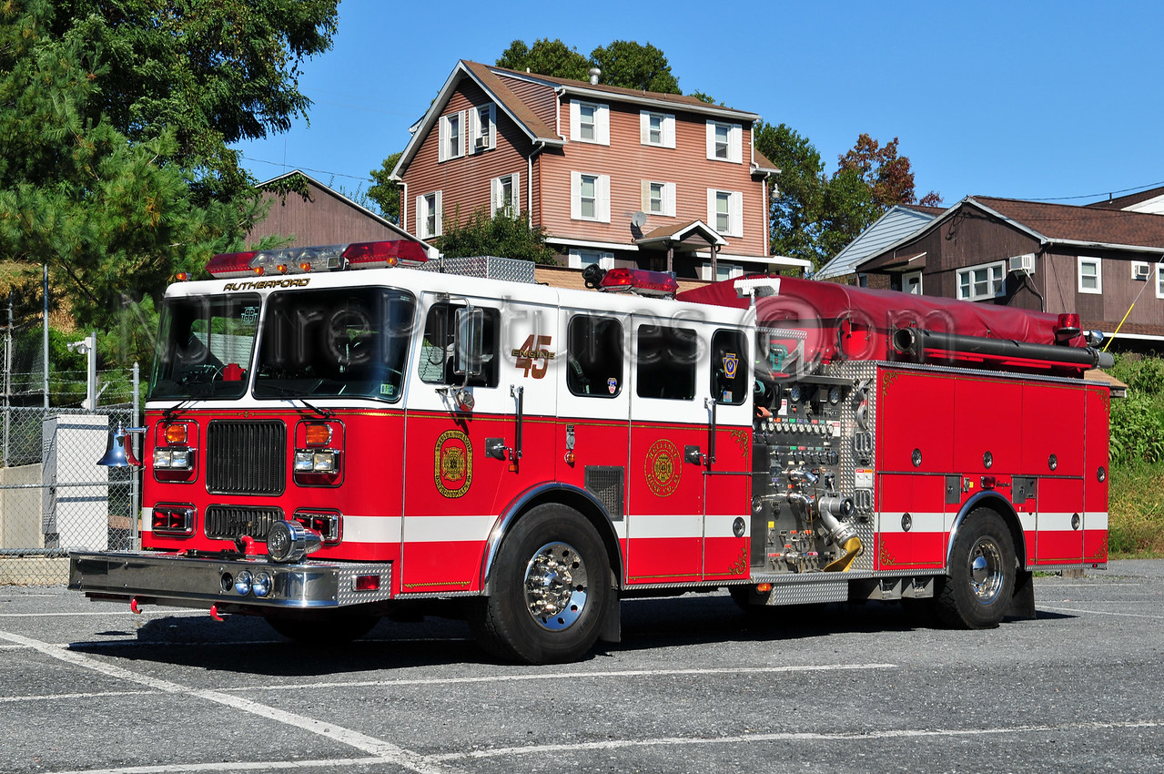 RUTHERFORD ENGINE 45 - 1996 SEAGRAVE 1500/750/50A/20B