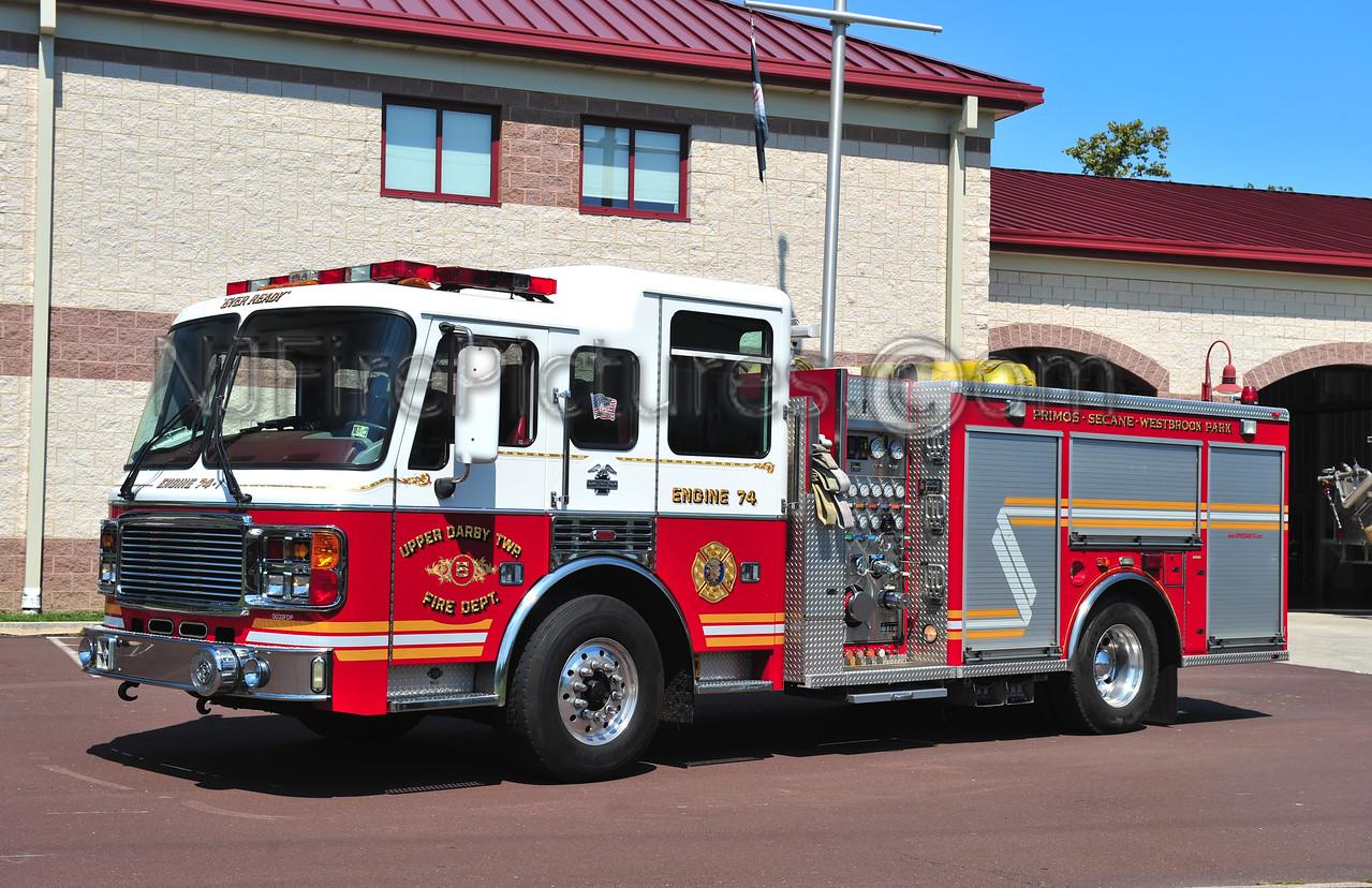 UPPER DARBY (PRIMOS-SECANE) ENGINE 74-1