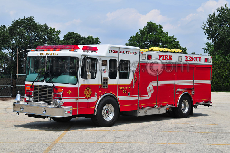 BROOMALL RESCUE 53 - 1996 HME/M&W 300/300