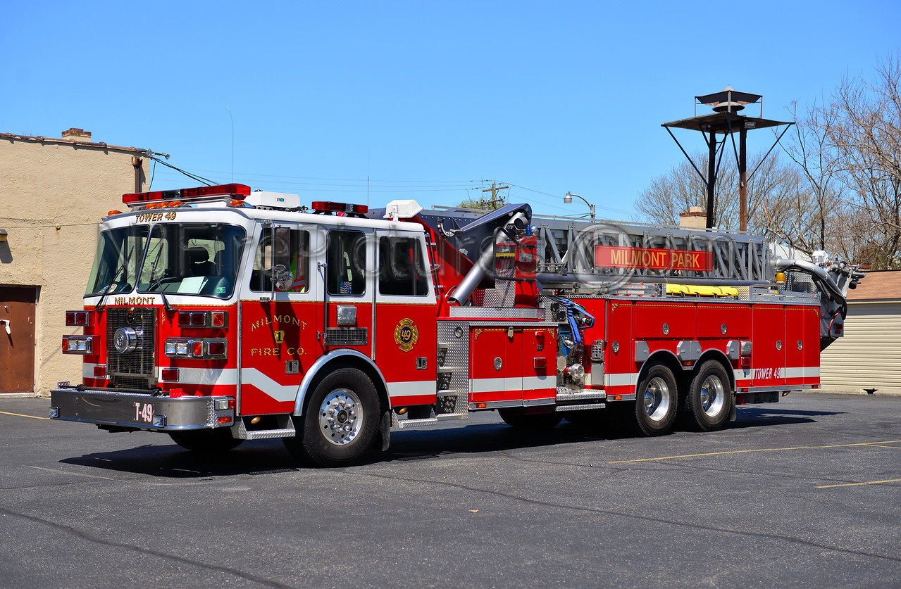 RIDLEY TWP, PA MILMONT FIRE CO. TOWER 49