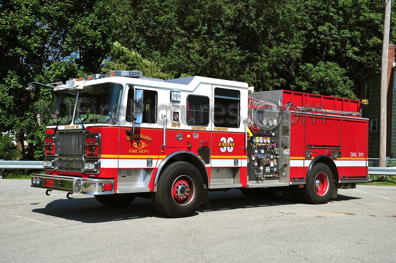UPPER DARBY (CARDINGTON-STONEHURST) ENGINE 36-2