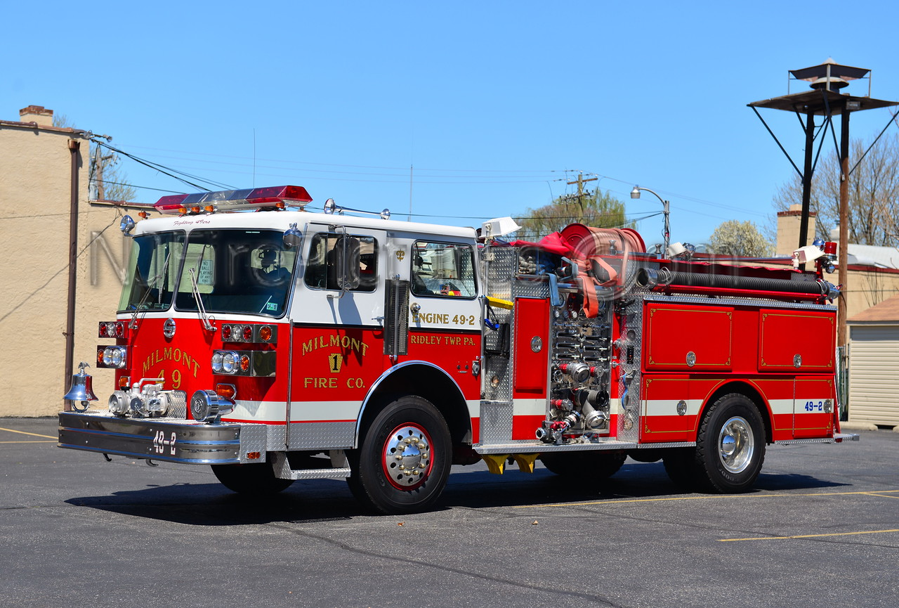 RIDLEY TWP, PA MILMONT FIRE CO. ENGINE 49-2