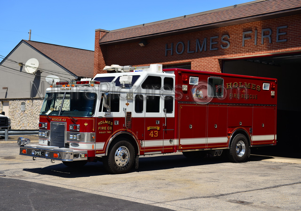 RIDLEY TWP, PA HOLMES FIRE CO. RESCUE 43