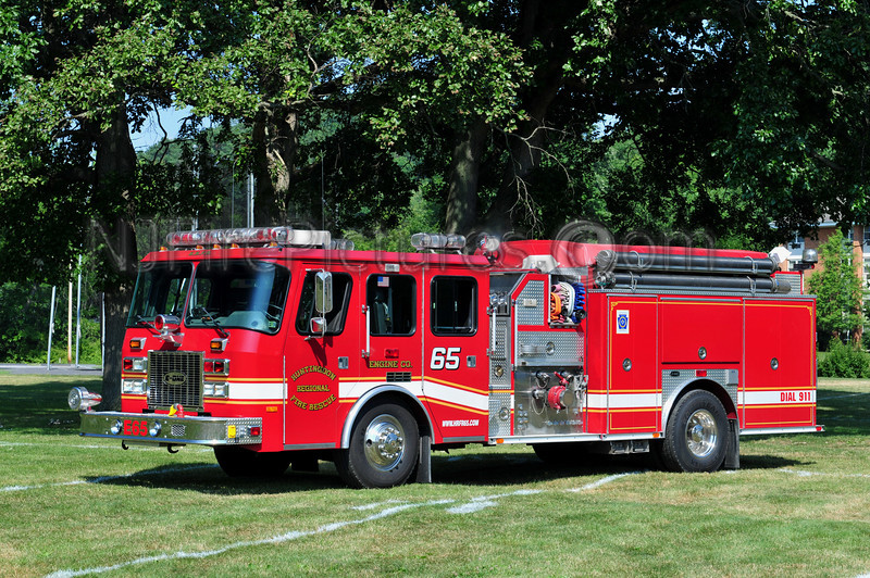 HUNTINGDON REGIONAL FIRE RESCUE ENGINE 65