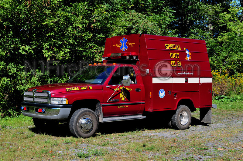 CASSVILLE, PA (TROUGH CREEK VALLEY) SPECIAL UNIT 21