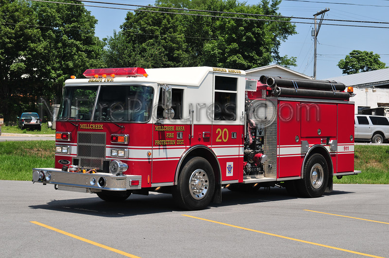 BRADY TWP (MILLCREEK AREA FIRE PROTECTION) RESCUE-ENGINE 20