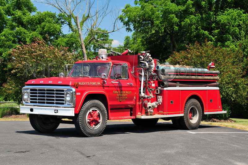McALEVY'S FORT, PA STONE CREEK VALLEY ENGINE 19-2