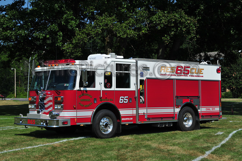 HUNTINGDON REGIONAL FIRE RESCUE  RESCUE 65