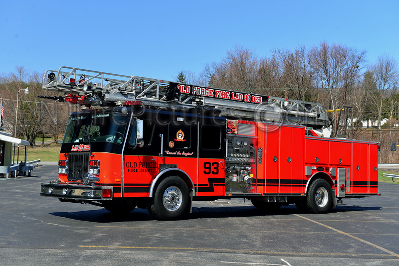 OLD FORGE, PA LADDER 93