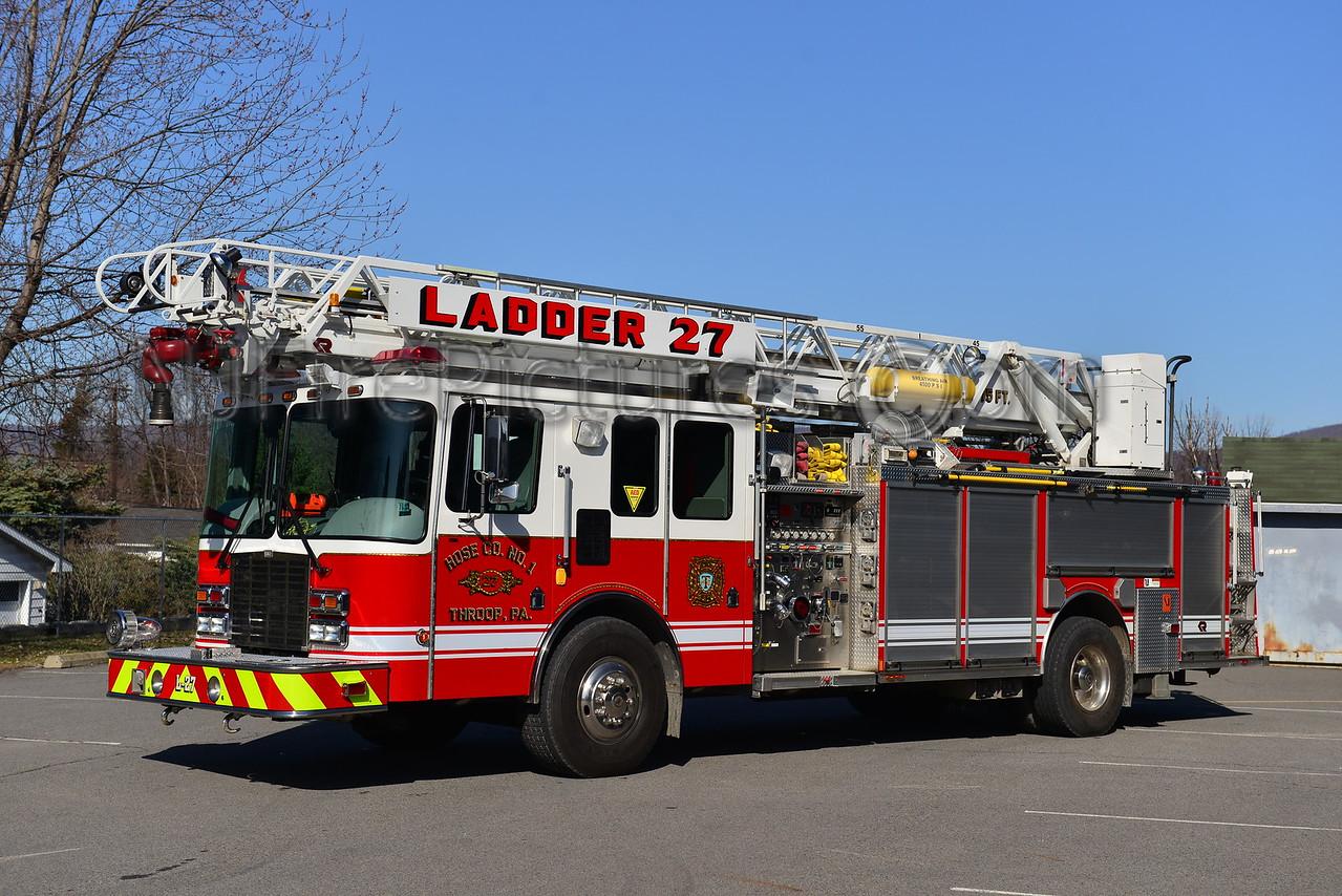 THROOP, PA LADDER 27