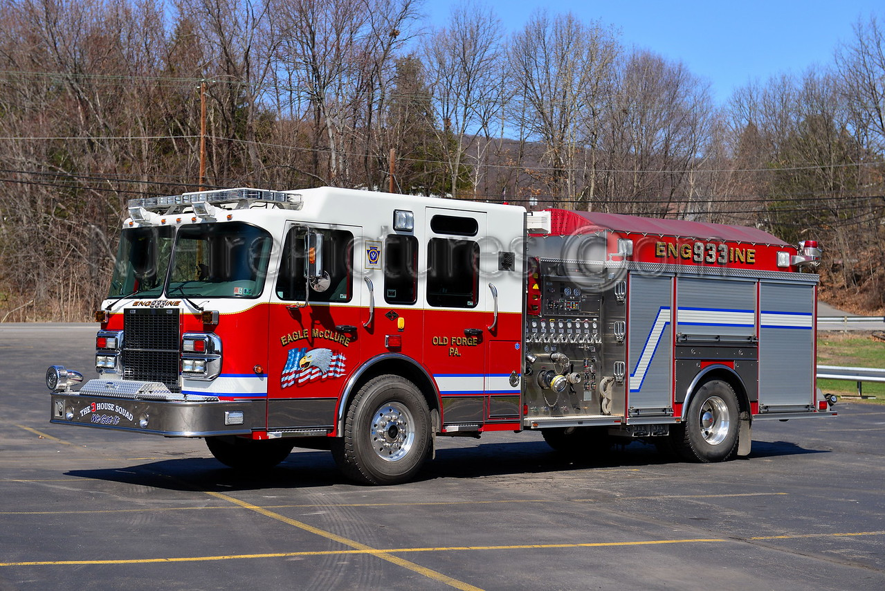OLD FORGE, PA ENGINE 933