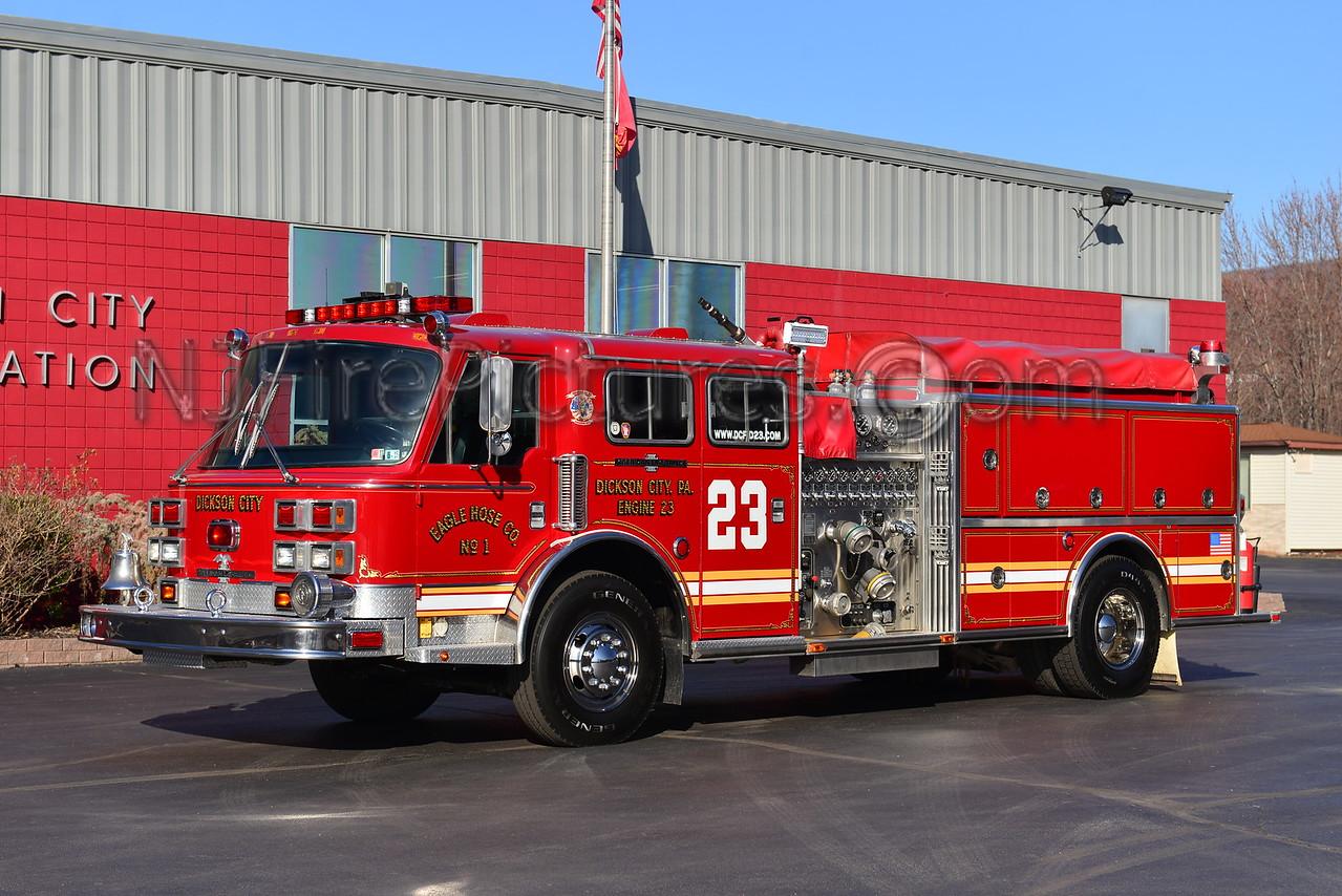 DICKSON CITY, PA ENGINE 23