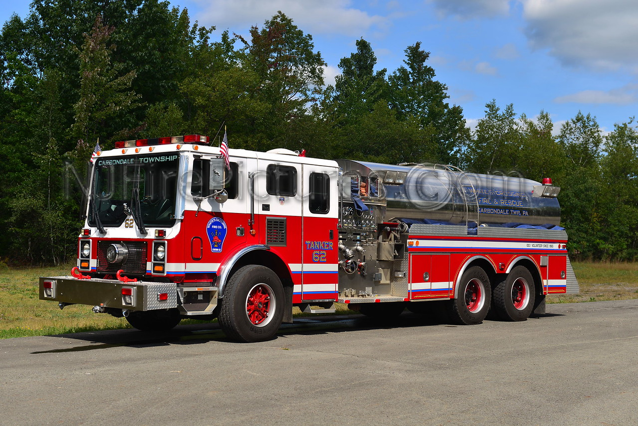 CARBONDALE TOWNSHIP, PA TANKER 62 WHITE'S CROSSING