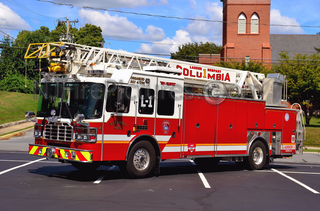 COLUMBIA, PA LADDER 81