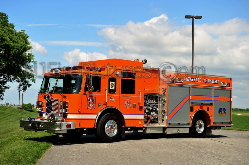 LAFAYETTE, PA RESCUE-ENGINE 631