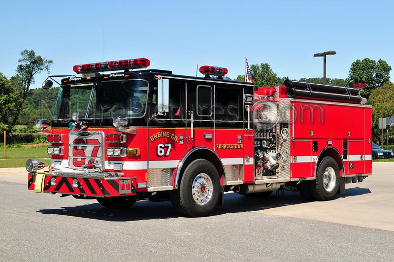 ROHRERSTOWN, PA ENGINE 67