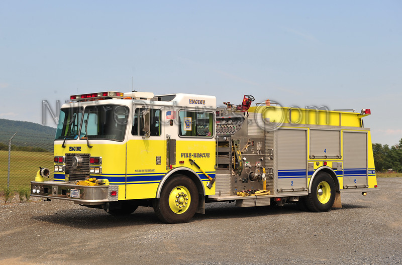 FORT INDIANTOWN GAP ENGINE 75-1 - 1994 KME 1500/750  EX-NEW CUMBERLAND ARMY DEPOT
