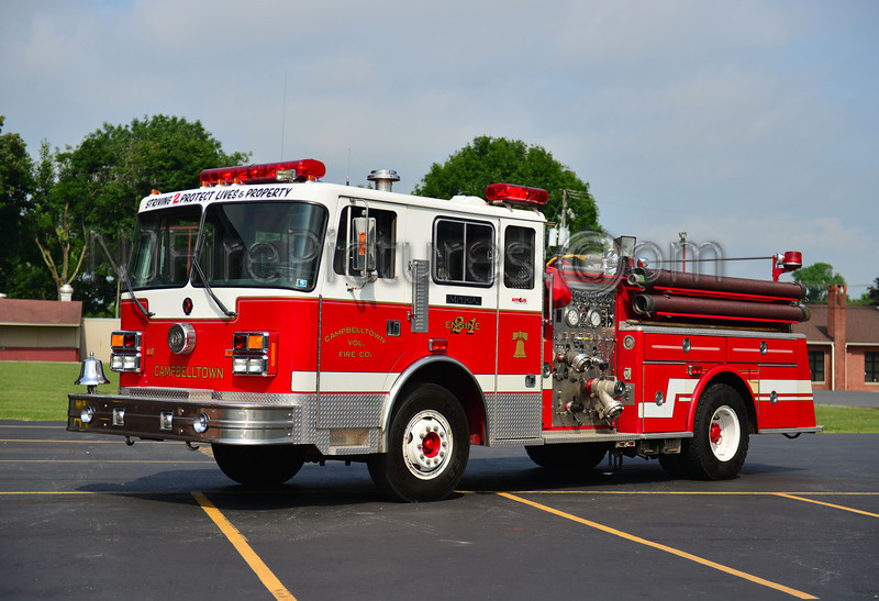 CAMPBELLTOWN ENGINE 2-1 - 1973 IMPERIAL/1998 PA FIRE APPARATUS REFURB 1250/500