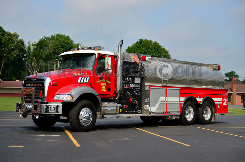 CAMPBELLTOWN TANKER 2 - 2005/2007 MACK/NEWLEXINGTON/4GUYS 1500/4000 (NEW LEXINGTON WENT OUT OF BUSINESS AND 4GUYS FINISHED THE BUILD IN 2007)