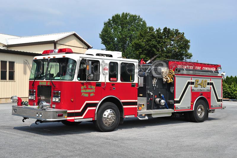 MT ZION, PA ENGINE 40 - 2004 SPARTAN/NEW LEXINGTON 1250/750/30