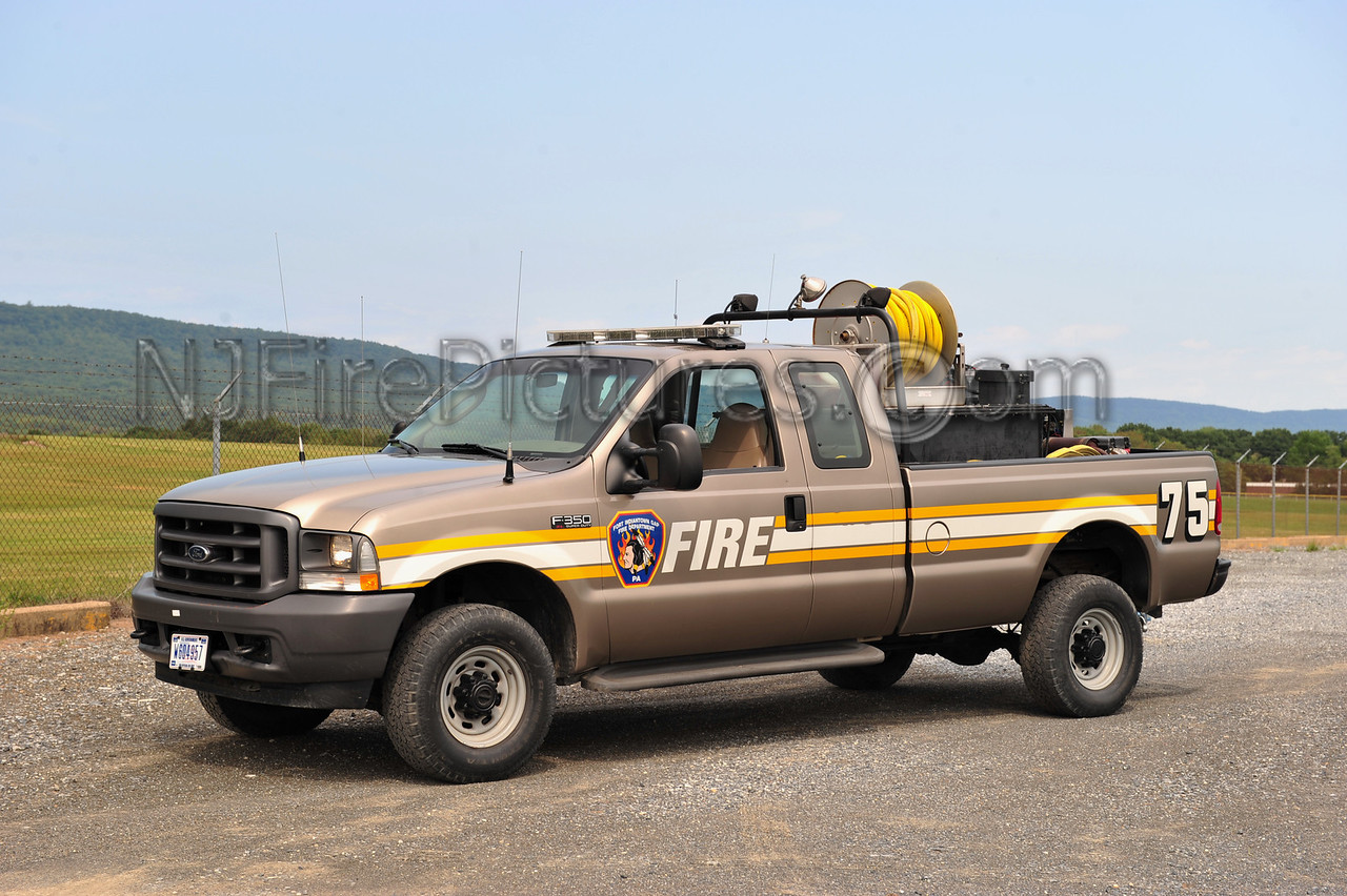 FORT INDIANTOWN GAP TAC-75 - 2004 FORD F350   250/250/15