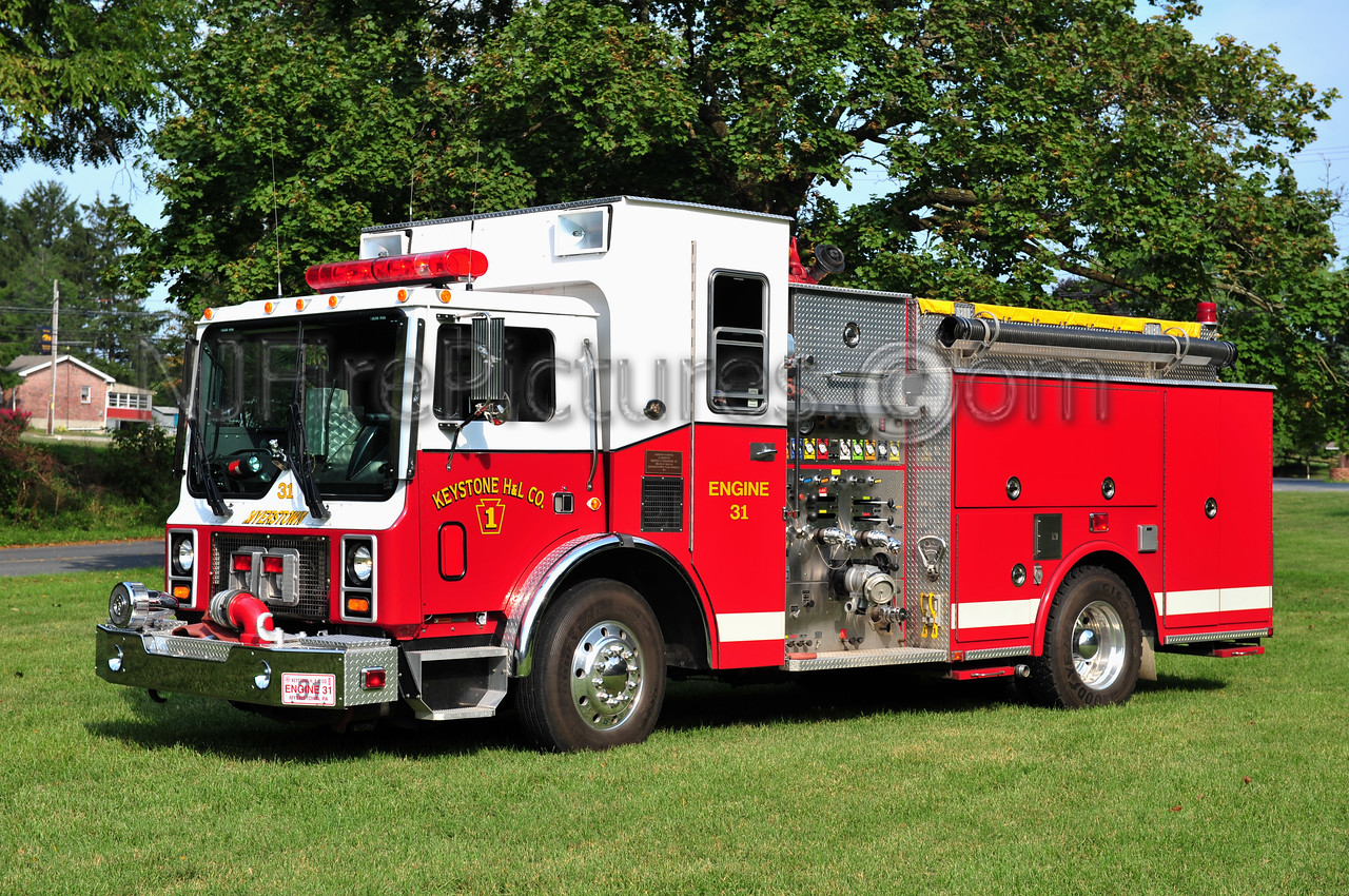 MEYERSTOWN (KEYSTONE H&L) ENGINE 31 - 1992 MACK MR/LTI 1500/1000