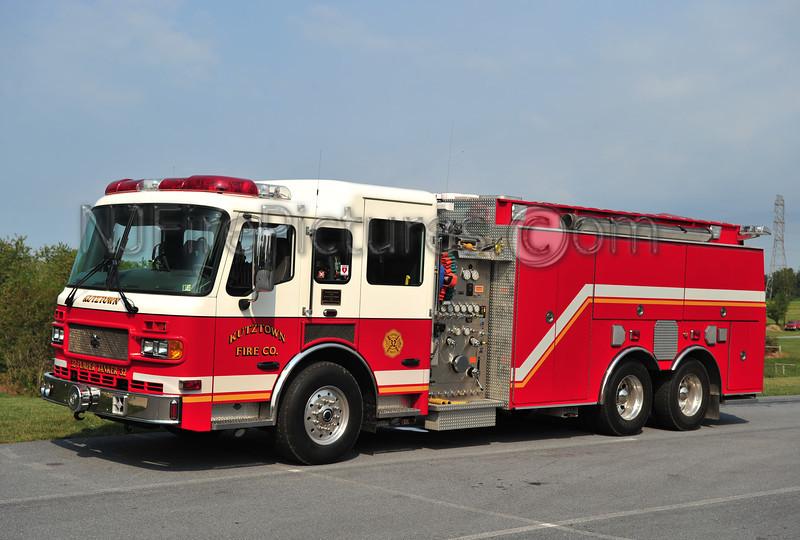 KUTZTOWN, PA ENGINE-TANKER 32 - 2004 AMERICAN LAFRANCE 1500/2000