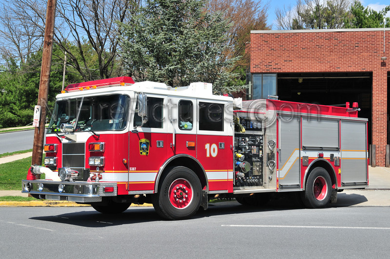 ALLENTOWN, PA ENGINE 10 - 2000 PIERCE SABER 1500/500/25/25