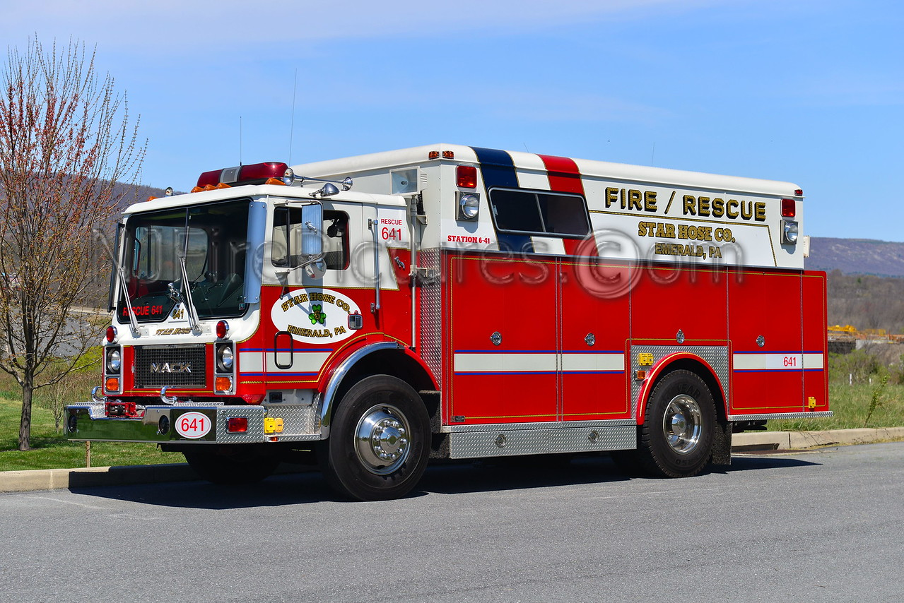 EMERALD, PA RESCUE 641