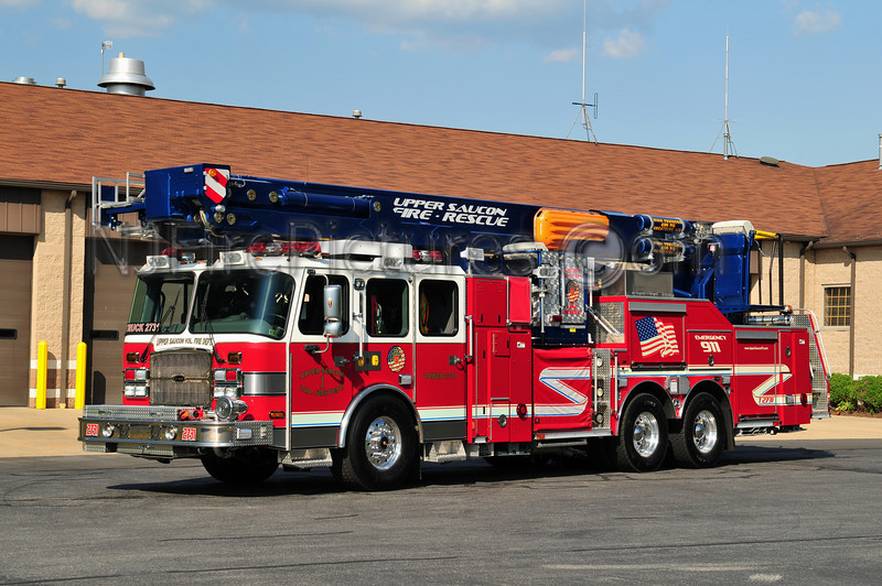 UPPER SAUCON TOWER 2731 - 2008 EMERGENCY ONE/BRONTO 2000/270/30/114'