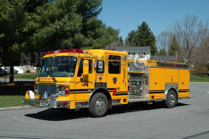 Western Salisbury - Engine 3112 - 1998 American LaFrance/EEI 1250/750