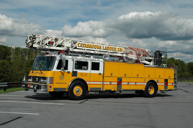 Catasauqua - Ladder 231 - 1992 Simon Duplex/LTI 106'