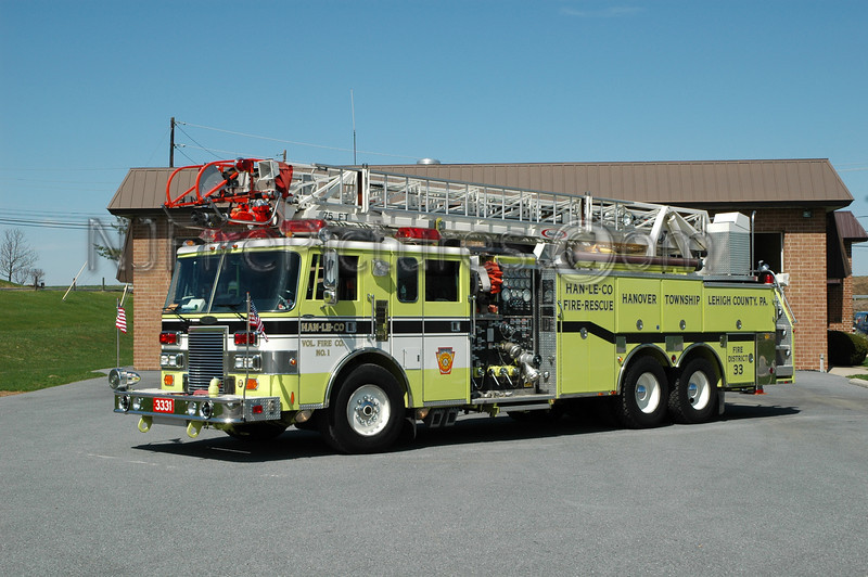 HAN-LE-CO - Ladder 3331 - 1991 Pierce Lance 2000/750/75'