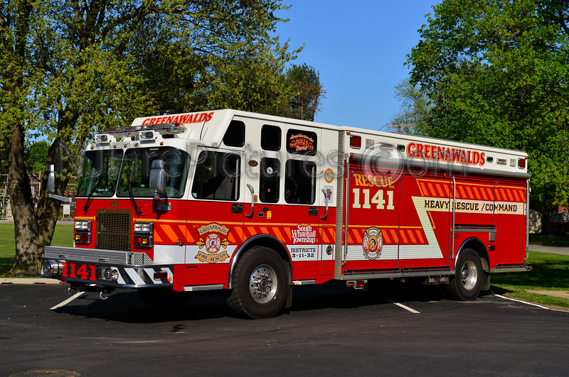 SOUTH WHITEHALL, PA (GREENAWALDS) RESCUE 1141