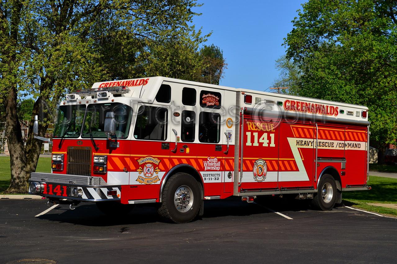 SOUTH WHITEHALL, PA (GREENAWALDS) RESCUE 1141