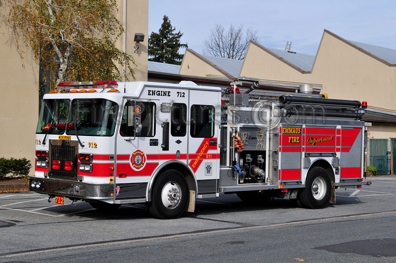 EMMAUS BORO, PA ENGINE 712 - 1998 SPARTAN/CENTRAL STATES 1500/750